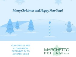 Season's Greetings from Marchetto Pellami